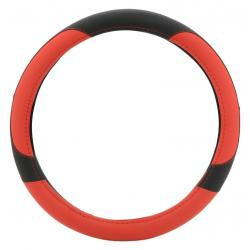 Potah volantu COLOR LINE - červený/černý