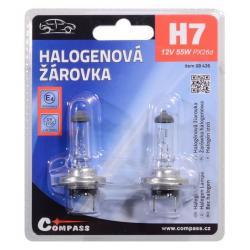Žárovka 12V  H7, 55W PX26d blister 2ks