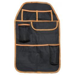 Organizér na přední sedadlo - černá/oranžová