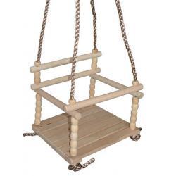 Houpačka dřevěná (dětská)