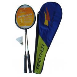 Badmintonová sada - 2 pálky + košíček