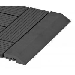 Přechodová lišta G21 pro WPC dlaždice Eben, 30x7,5 cm rovná