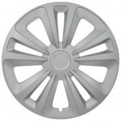 Kryt kola Mig 15&quot , jeden kus - stříbrná