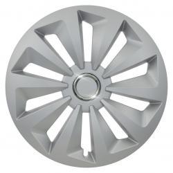 Kryt kola Fox Ring 14&quot , jeden kus - stříbrná