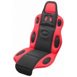 Potah sedadla Race - černo/červený