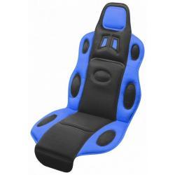 Potah sedadla Race - univerzální, černo/modrý