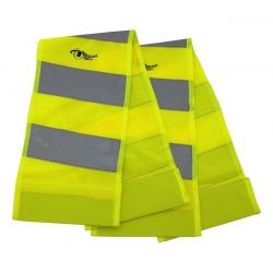 Reflexní pás s magnety žlutý, 2 ks