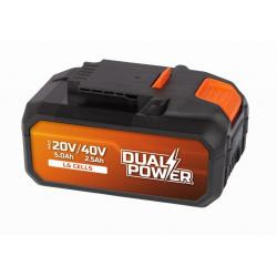 Powerplus baterie, 40 V Li-Ion 2,5 Ah