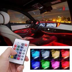 Ambientní osvětlení do auta
