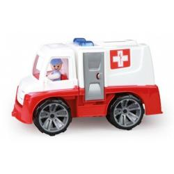 Auto Ambulance Truxx s figurkou plast - 29 cm