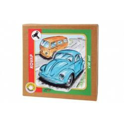 VW brouk + minibus, set na klíček