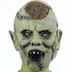 Halloweenská maska - zombie