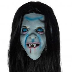 Latexová maska čarodějnice - Halloween