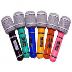 Nafukovací MEGA mikrofon v Rock&apos n Roll stylu