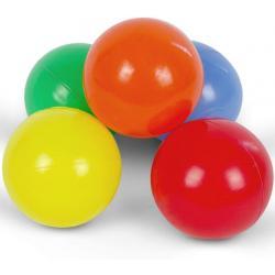 Pestrobarevné míčky, dětské, 200 ks