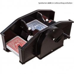 Mechanická míchačka karet, černá