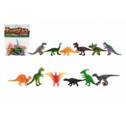 Zvířátka dinosauři - 12 ks