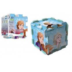 Pěnové puzzle Ledové království 2/Frozen 2  118x60cm 8ks v sáčku