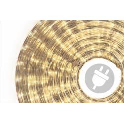 Světelný kabel - 1800 minižárovek, 50 m, teple bílý