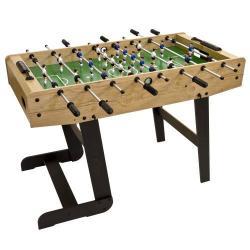 Stolní fotbal Belfast,121x101x79 cm, rozkládací,světlé dřevo