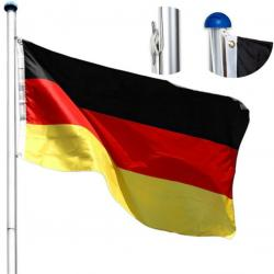 Vlajkový stožár na vlajku 6,5 m