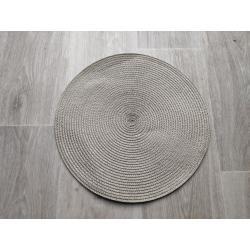 Prostírání kulaté 35 cm - světlá cappucino