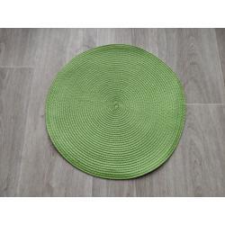 Prostírání kulaté 35 cm - světle zelená