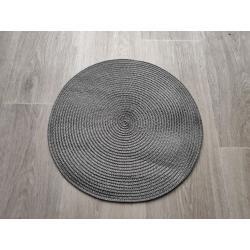 Prostírání kulaté 35 cm - šedá