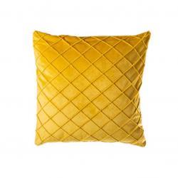 Povlak na polštář Alfa, 45 x 45 cm, žlutá