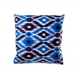 Povlak na polštář Aztek, 45 x 45 cm, modrá