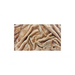 Deka z mikrovlákna - 150 x 200 cm, sv.hnědá