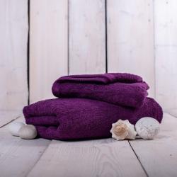 Ručník Unica - 50 x 100 cm, fialová