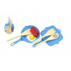 Plastové pánvičky s doplňky