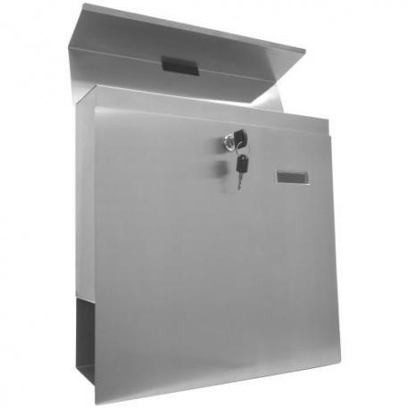 Nástěnná poštovní schránka z ušlechtilé oceli
