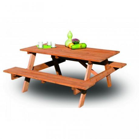 Zahradní dřevěný set PIKNIK FSC