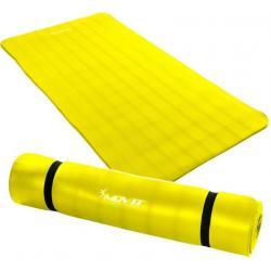 Gymnastická podložka MOVIT 190 x 100 x 1,5 cm žlutá