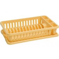Odkapávač na nádobí - žlutý CURVER
