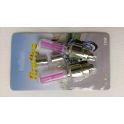 Svítící ventilky - jednobarevné - Červený ventilek