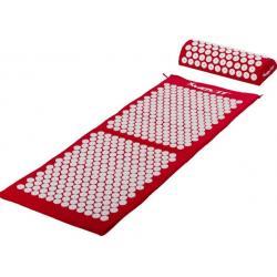 Akupresurní podložka s polštářem MOVIT 130 x 50 cm - červená