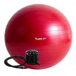 Gymnastický míč MOVIT s pumpou - 85 cm - červený