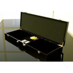 Dřevěný kufr na 500 ks žetonů s příslušenstvím