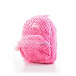 G21 batoh dětský plyšový, růžový