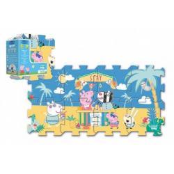 Pěnové puzzle Prasátko Peppa/Peppa Pig 32x32cm