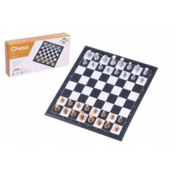 Šachy magnetické společenská hra v krabičce 20x10x4cm