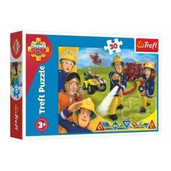 Puzzle Požárník Sam/Připraveni pomoct 30 dílků