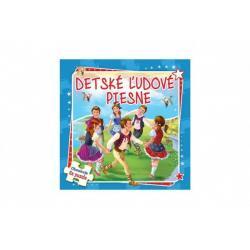 Puzzle kniha Detské ľudové piesne 17x17cm 6x9
