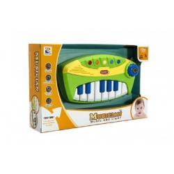Piano na baterie, 25 cm
