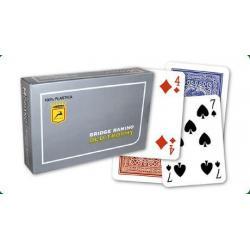 Modiano 4 rohy 100% plastové karty RAMINO OLD TROPHY MOTO