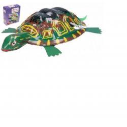 Teddies natahovací kovová želva, 8 x 12 cm