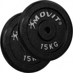 MOVIT sada závaží 2 x 15 kg, litina